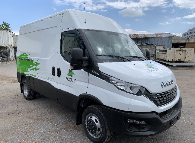 Remise de véhicule Daily Jacquet SA
