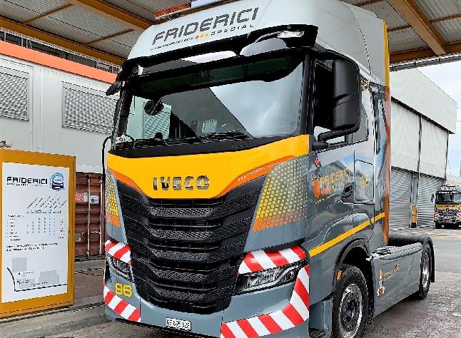 Remise de véhicule IVECO S-WAY Friderici Spécial SA